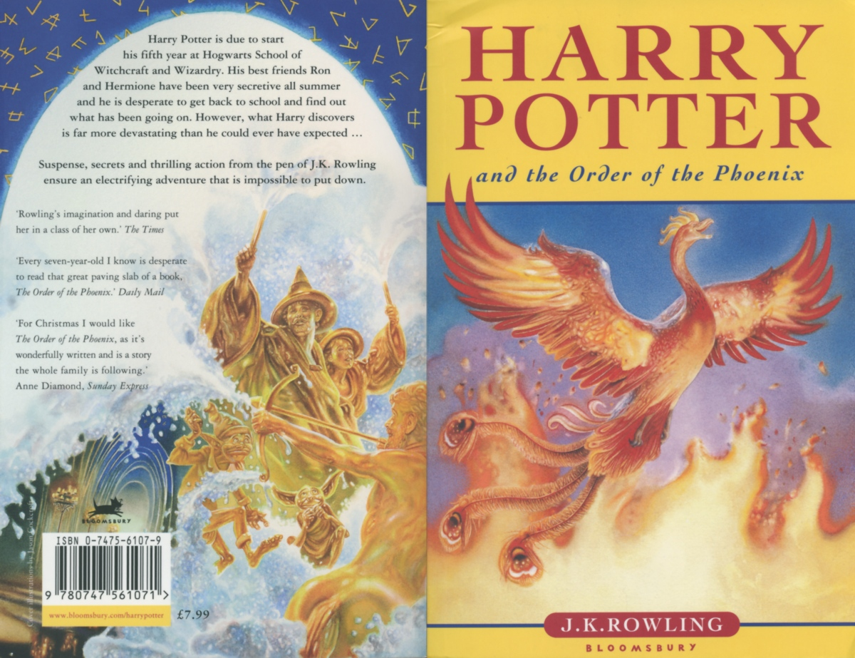 Book Covers Front And Back ~ Harry potter book cover front and back pixshark