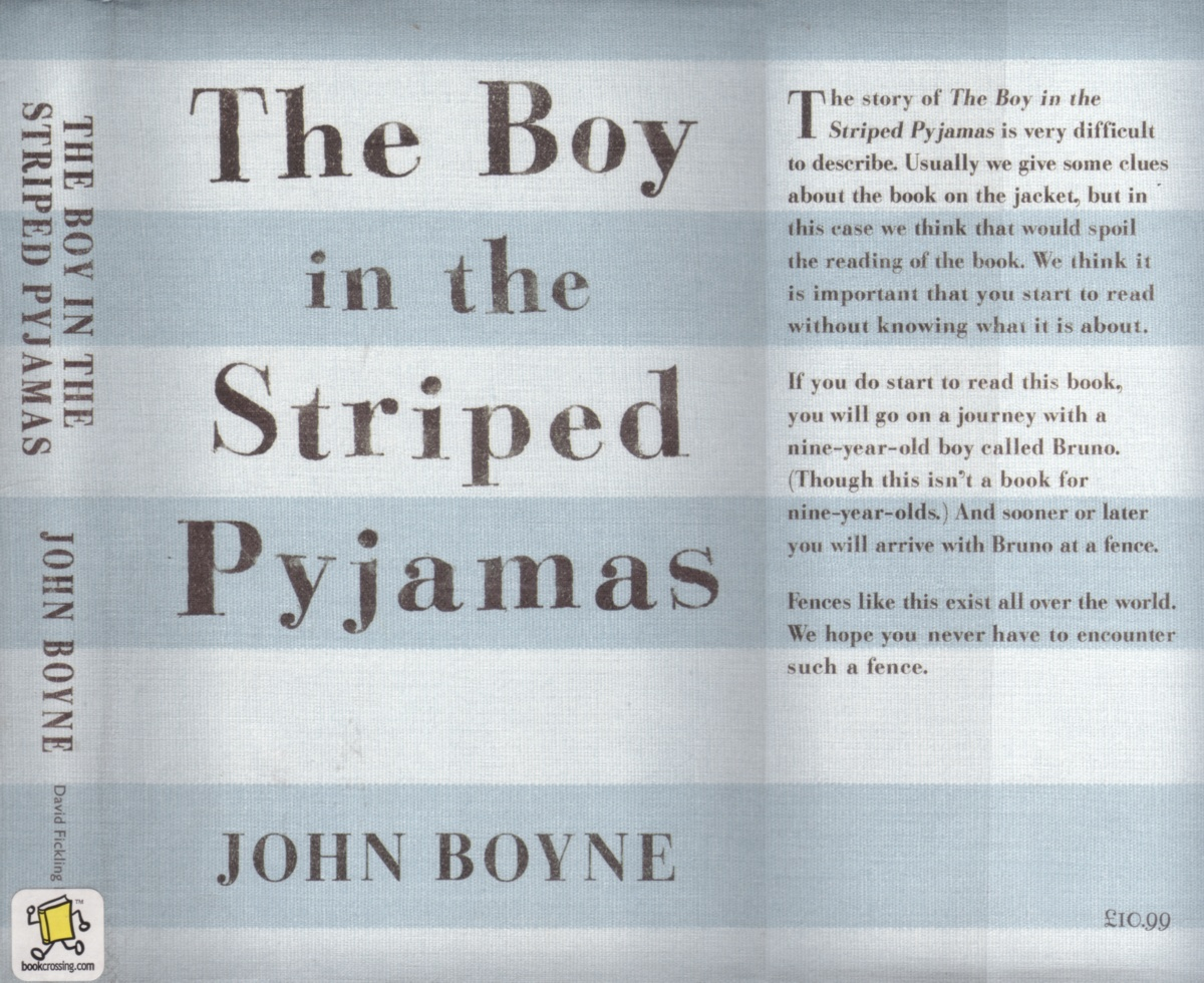 After i read the boy in the striped pajamas i found it interesting it