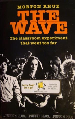 the wave by todd strasser essay The third wave was an experimental social movement created by california high  school  the wave, and a us young-adult novelization by todd strasser (who  used the  the original essay by jones (1976) lesson plan – third wave.